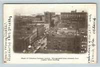 Columbus OH, Heart of Columbus Business Section, Ohio, Vintage Postcard Z29