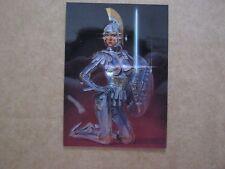 Foil CHROMIUM Trading Card HAJIME SORAYAMA Sexy Robot C3 1993