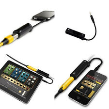 1Pc Black New Guitar Interface IRig Converter Replacement Guitar for Phone/Ipod