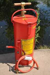 15 Liter Kübelspritze Wasserspritze Feuerwehrspritze Feuerlöscher Ex. Bundeswehr