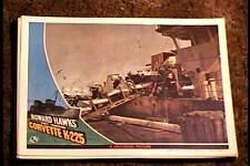 CORVETTE K-225 1943 LOBBY CARD #2 NAVAL HOWARD HAWKS