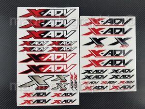 X-Adv 750 Motorrad Aufkleber set blatt stickers for Honda XADV Laminiert