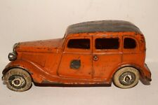 Arcade Cast Iron 1933 Ford Yellow Cab Taxi, Original