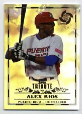 Panini Alex Rios Baseball Cards For Sale Ebay