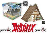 PLASTOY - ASTERIX & OBELIX - HAUS VON ASTERIX - INCL FIGUR - NEU/OVP