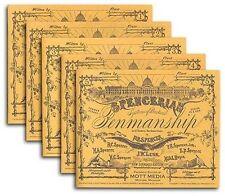 Spencerian Penmanship Set of 5 Copybooks by Spencer, Platt R. -Paperback