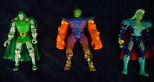 LOT OF 3  Marvel Avengers Toy Biz ACTION FIGURES Super Skrull Dr Doom VERY RARE!