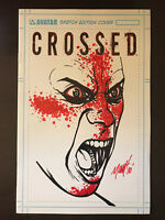 Crossed #1 2008 Sketchbook Variant Comic Book /250