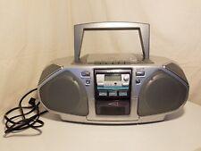 AIWA CSD-FD81 Portable Compact Disc Stereo Radio Cassette Recorder No Remote