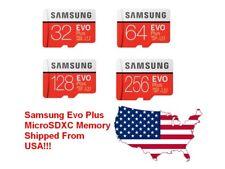 Samsung EVO Plus 256GB 128GB 64GB 32GB micro SD SDHC SDXC 100MB/s Class 10 Lot
