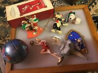 Lot Of Hallmark Warner Bros My Little Pony Ornament Snoopy Sylvester
