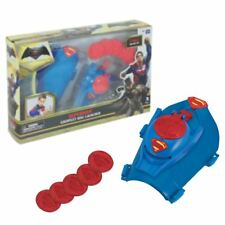 NUOVO DC Comics Batman Superman V DISCO Gauntlet Launcher Tiratore Ufficiale