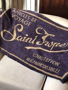 Rare Louis Vuitton Beach Towel Saint Tropez King Size