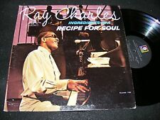 RAY CHARLES Ingredients in a Recipe For Soul 1963 ABC Paramount MONO Later Labl