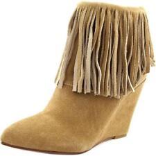 Calzado de mujer botines de tacón alto (más que 7,5 cm) de color principal beige