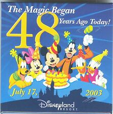 DLR The Magic Began 48 Years Ago Today July 17, 2003 with the Fab 6 Button!
