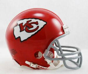 Kansas City Chiefs 1963-1973 63-73 Throwback Riddell Football Mini Helmet New