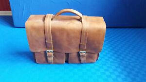Hochwertige Lehrertasche / Aktentasche von Strellson aus echtem Leder