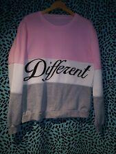 Women Diffferent Print Long Sleeve Hoodie Sweatshirt 3XL
