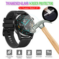 For Huawei Watch GT 2 46mm Full Cover Tempered Glass Screen Protector 9H HD