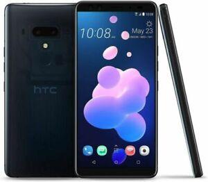 "Original HTC U12+ plus 6.0"" 64GB Global Super LCD5 Unlocked Samartphone Black"