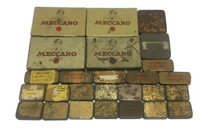 Meccano Small Parts Tins