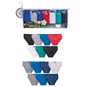 Boys 7 Pairs of Knickers Pants Briefs 100% Cotton  2-3 3-4 5-6 7-8 years New