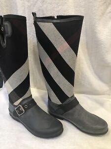 burberry rain boots on sale