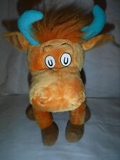 "Kohl's Dr Seuss Mr Brown Can Moo Can You Bull 14"" Plush Soft Toy Stuffed Animal"