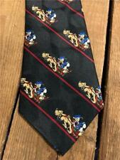 Vintage Disney Donald Duck and Pluto Necktie Tie Mickey Unlimited