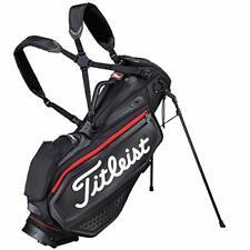 TITLEIST Golf Men's Stand Caddy Bag Jet Black Premium 9 x 47 inch 2.9kg TB20SXSF