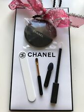 CHANEL ACCESSORIES MINI MAKE UP BRUSH GIFT BAG SET BRAND NEW