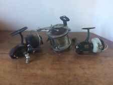 antique fishing reels X3, Mitchell 307, ABU Svangsta 444A