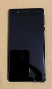 Nokia 3 - 16GB - Matte Black (Unlocked) Smartphone (Single SIM)