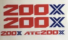 86 200X Fenders  OEM Color reproduction Decal ATC TRX  ATC200X 1986