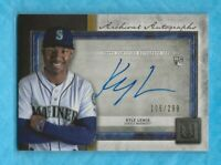 KYLE LEWIS 2020 Topps Museum Collection Archival Autographs RC #AAKL 105/299
