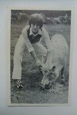 JOHN LENNON Tending To His Swine Photo.