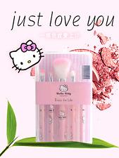 5 pcs set Hellokitty Makeup brush suit Cute box New style lyo-A06C