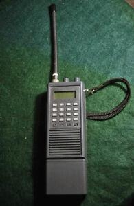ICOM IC-A20 VHF AIR BAND RADIO transceiver WORKING Read