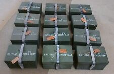 12 x Ration Tins - 24 Hour - British Issue