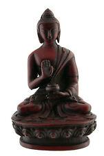 Statue Tibétaine de Bouddha Dhyani Amoghasiddhi en résine  11cm BTE4 3951