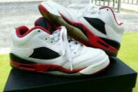 Jordan Retro 5 Low Fire Red OG Rare Fire Red Michael Jordan Last Dance