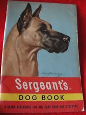 Sergeant's Dog Book - 1950's