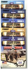 Desert Storm Trading Cards total 60 different cards Series 1