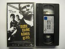 BUBE DAME KÖNIG GRAS - VHS VIDEO - GUY RITCHIE