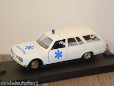 Peugeot 504 BR Ambulance van Verum France 1:43 in Box *8426