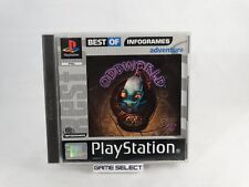 ODDWORLD ABE'S ODDYSEE SONY PLAYSTATION 1 2 3 ONE PS1 PS2 PS3 PSX PAL COMPLETO