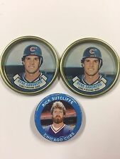 Topps Coins Coin Team Set 1987 1990 Chicago Cubs Plus Fun Foods 1984 Pin