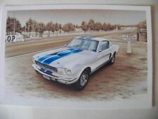 CARD FORD MUSTANG SHELBY GT 350