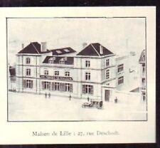 1929  --  MAISON DE LILLE AUX FORGES DE VULCAIN  W910